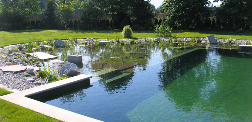 como construir una piscina natural paso a paso y muy