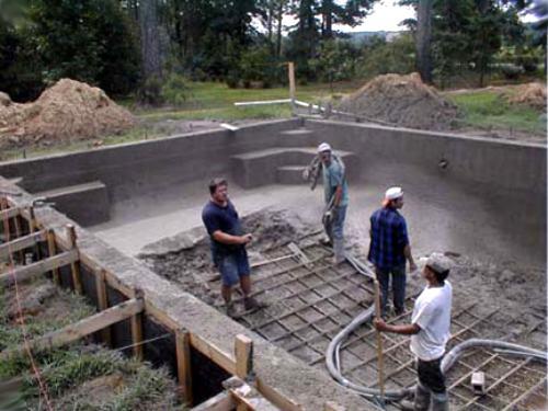 Como hacer una pileta de hormigon armado muy facilmente for Como se construye una piscina de concreto