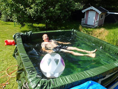 Como hacer una piscina casera de lona muy facilmente - Como se hace una piscina ...