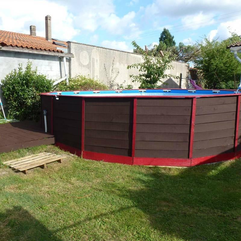 Como hacer una piscina econ mica muy facilmente for Como construir una alberca casera
