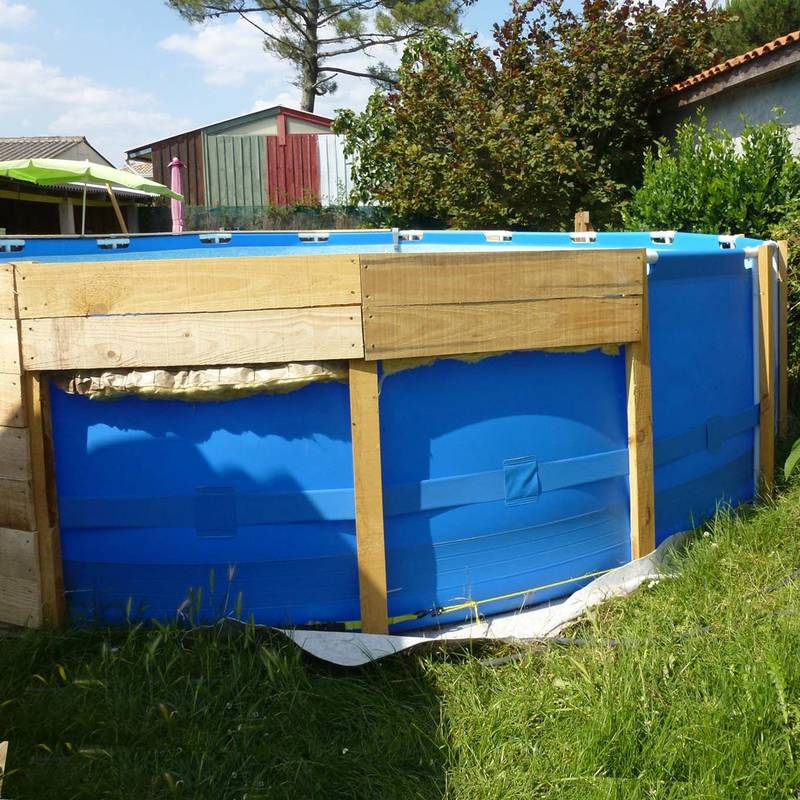 Como hacer una piscina econ mica muy facilmente for Piscina economica