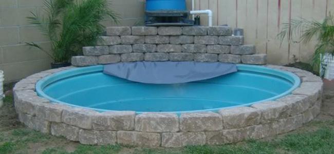 Como hacer una piscina econ mica muy facilmente for Como construir una piscina de ladrillos