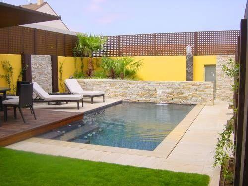 Como hacer una piscina moderna con estos sencillos consejos Fotos de patios de casas pequenas