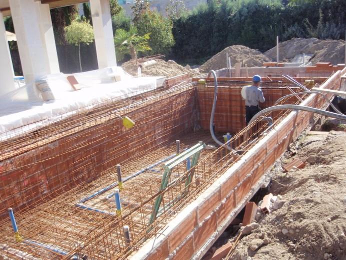 Como hacer pileta de nataci n paso a paso sencillo for Como hacer una piscina de concreto