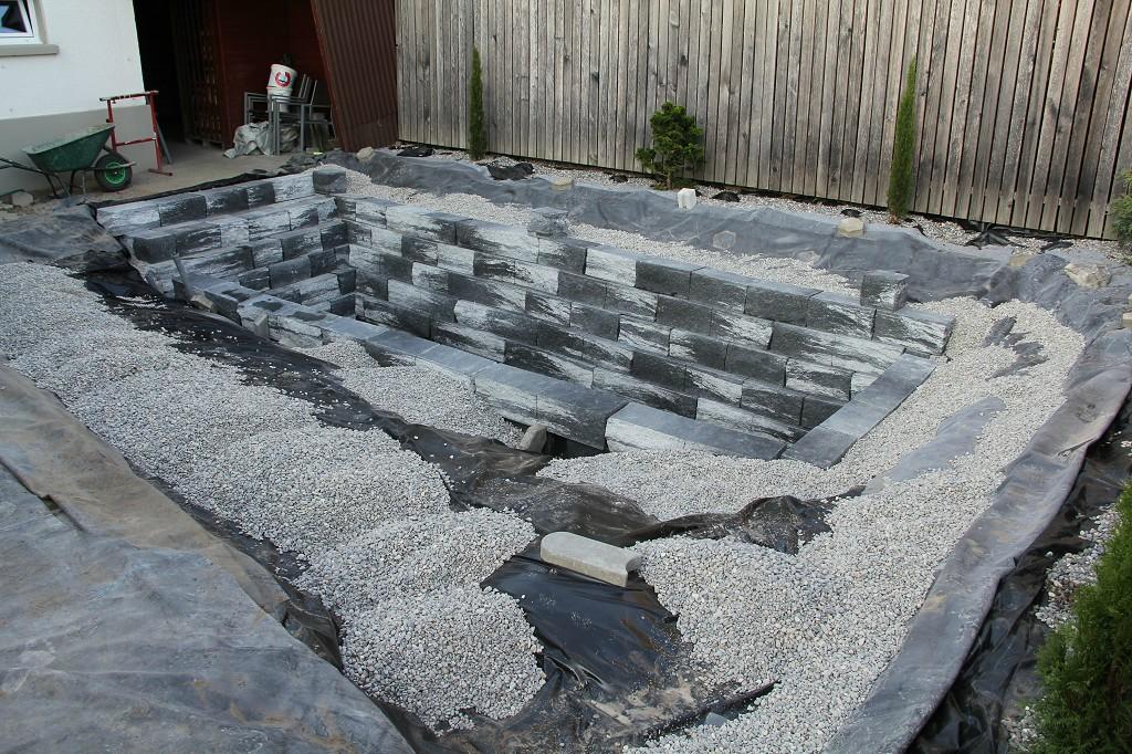 Como hacer piletas de agua para jard n muy decorativas for Como construir una alberca paso a paso