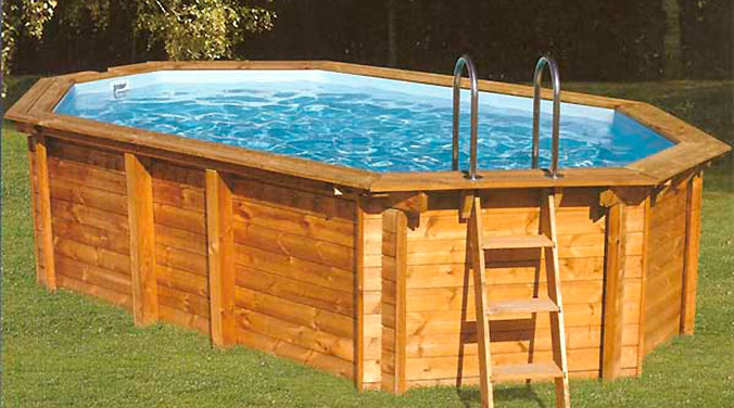 This diy pallet swimming pool is perfect for any backyard for Como hacer una piscina