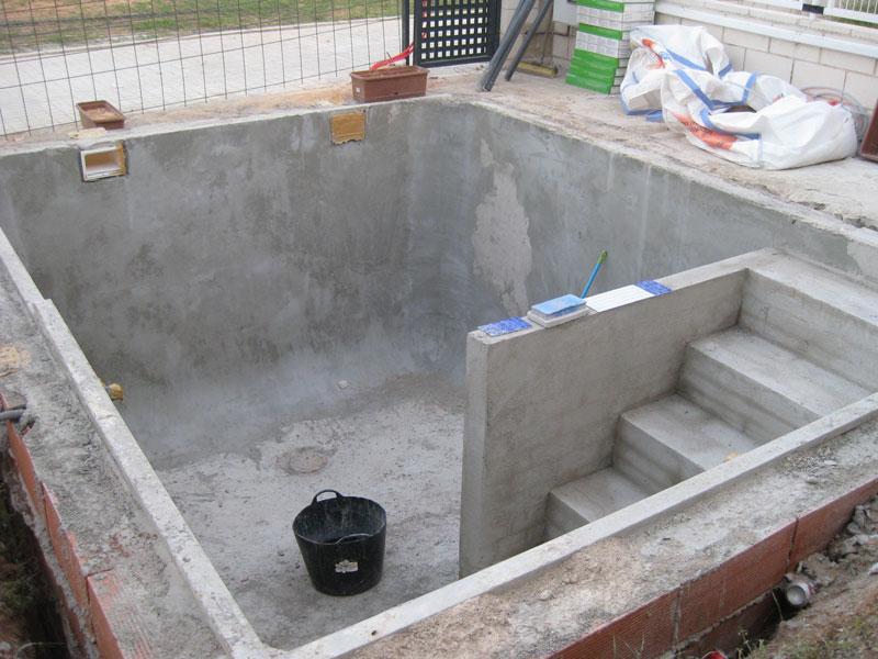 Como hacer piletas de hormigon de forma pr ctica for Como hacer una piscina en una terraza