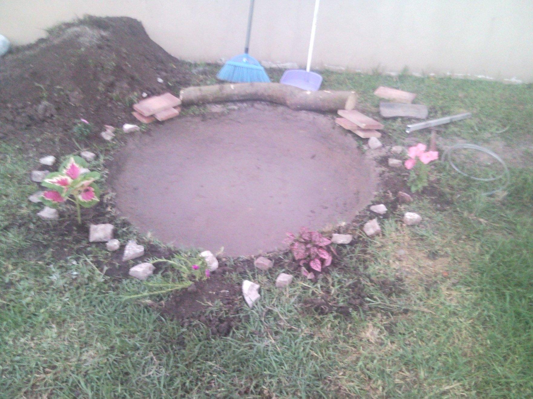 Como hacer una pileta de agua casera con maravillosas ideas for Cuanto sale hacer una pileta de material