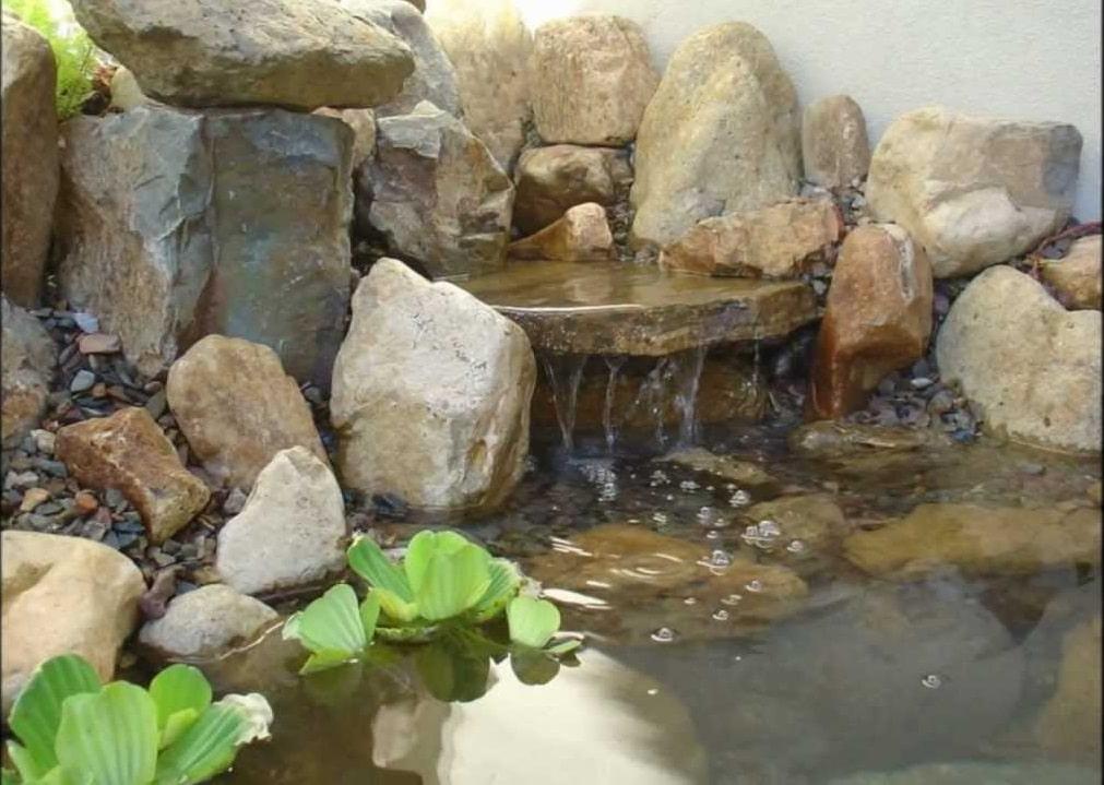 Como hacer una pileta de agua casera con maravillosas ideas for Piletas con cascadas