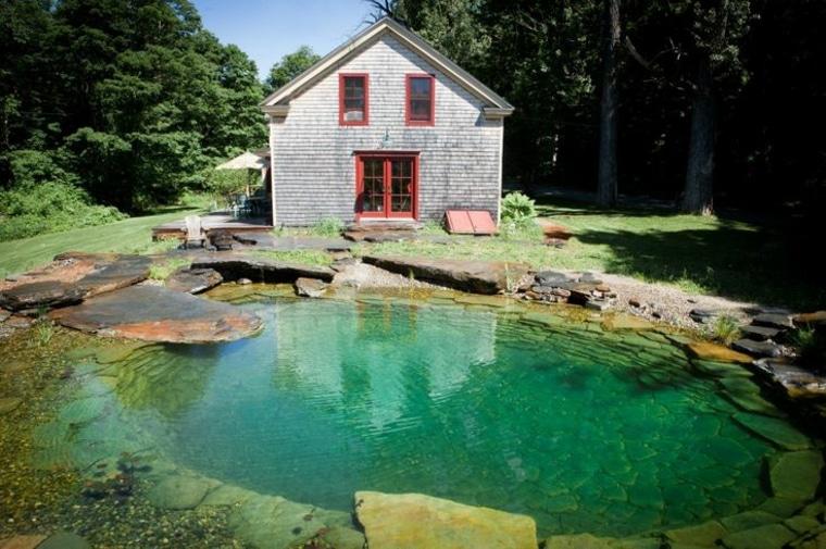 como hacer una piscina natural incre blemente f cil