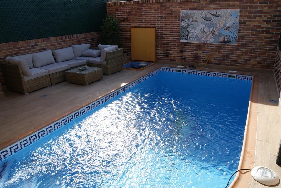 Como hacer una piscina de obra con ladrillos for Piscinas sin obra