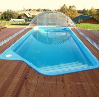 Como hacer una piscina for Valor de una piscina de fibra de vidrio