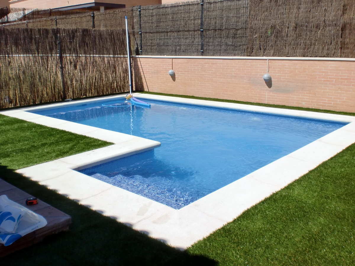 construir piscina de hormigon