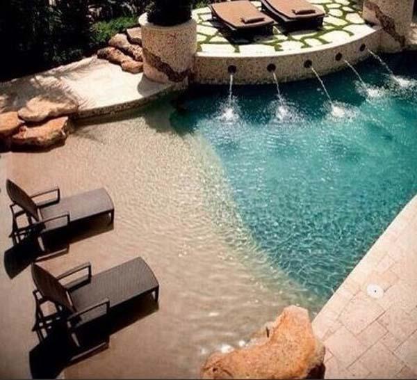 Como hacer piscinas de arena - Como construir piscina ...