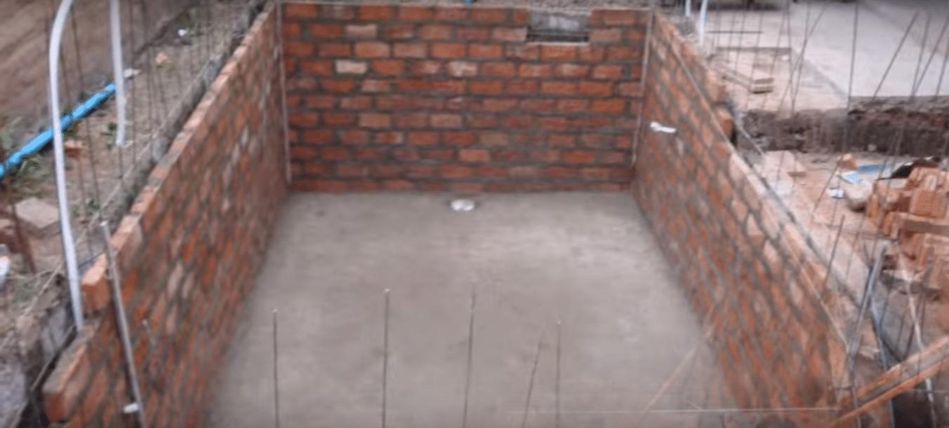 Como hacer una piscina de obra con ladrillos Construir una pileta de ladrillos