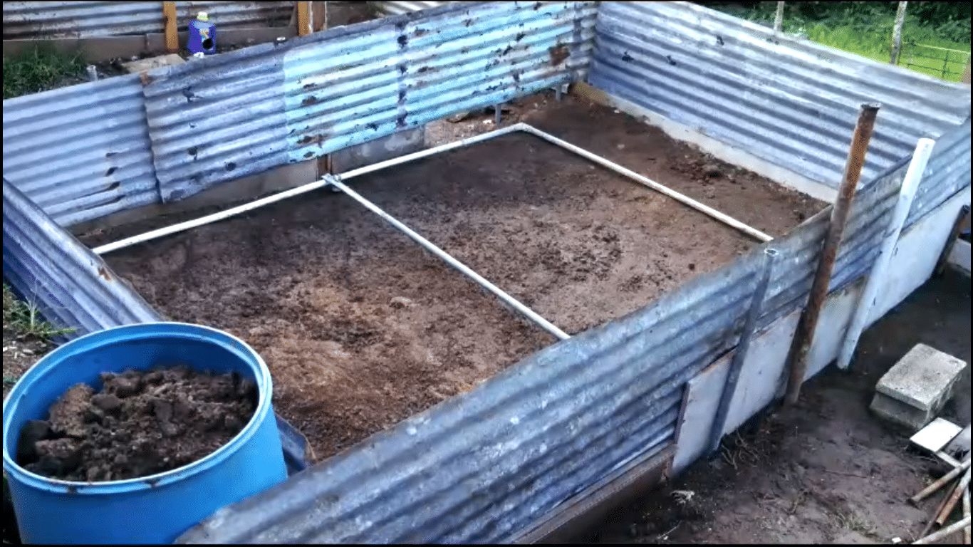 como hacer piscina barata con zinc y carton
