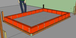 Como hacer una piscina de ladrillos huecos