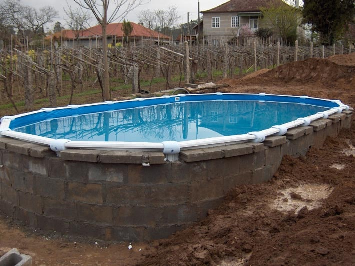 Como construir piscina de hormigon for Que hacer en la piscina