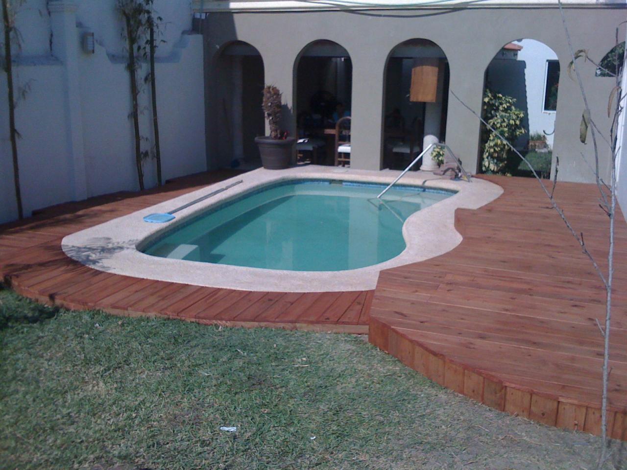 Como hacer albercas caseras f cilmente en familia - Materiales para construir una piscina ...