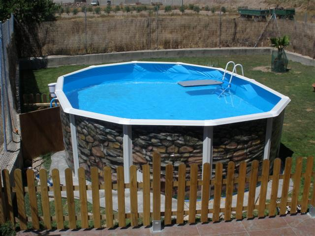 Como hacer una piscina barata desmontable for Piscinas desmontables para enterrar