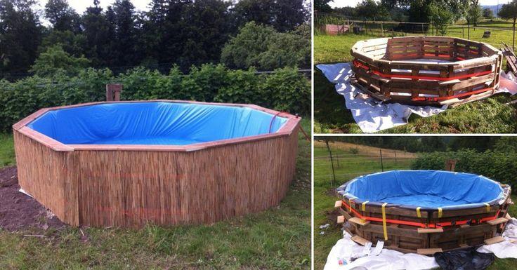 Como hacer una piscina con pl stico facilmente en casa for Hacer piscina economica