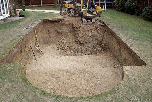 Como hacer piscinas de hormigon facilmente for Costo para construir una piscina