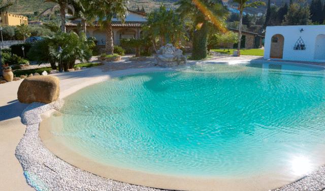Como hacer piscina de arena de playa o compactada for Piscinas desmontables ocasion