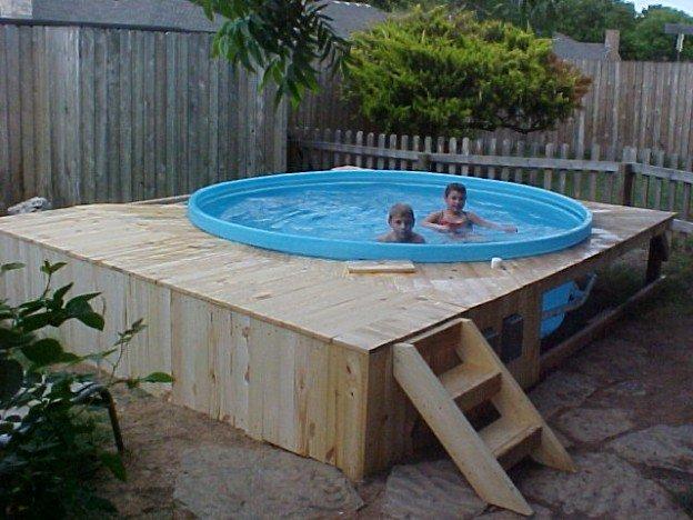 Como hacer albercas caseras f cilmente en familia for Como hacer una piscina climatizada