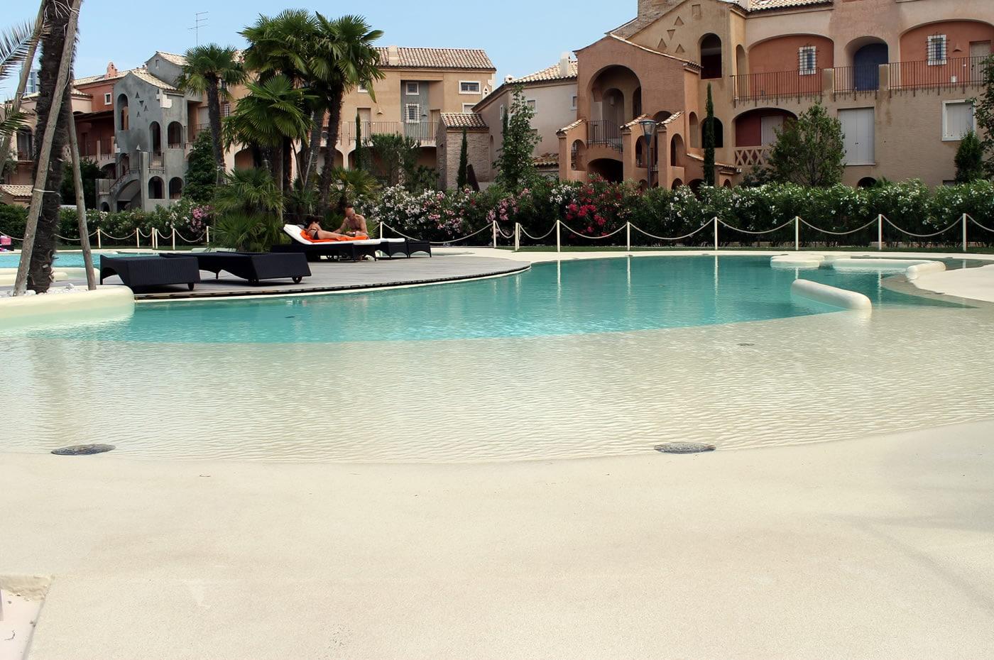 hacer piscinas de arena