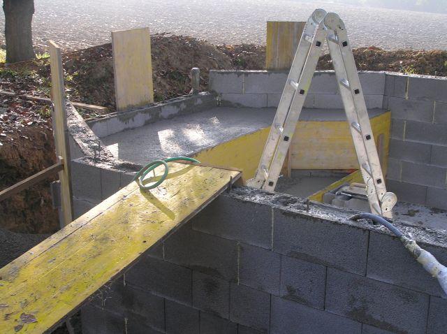 Muro De Bloques De Hormigon Armado Latest Estructura De