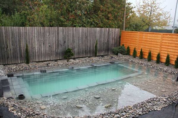 Como hacer una piscina casera sencilla muy f cil con la for Piscina economica