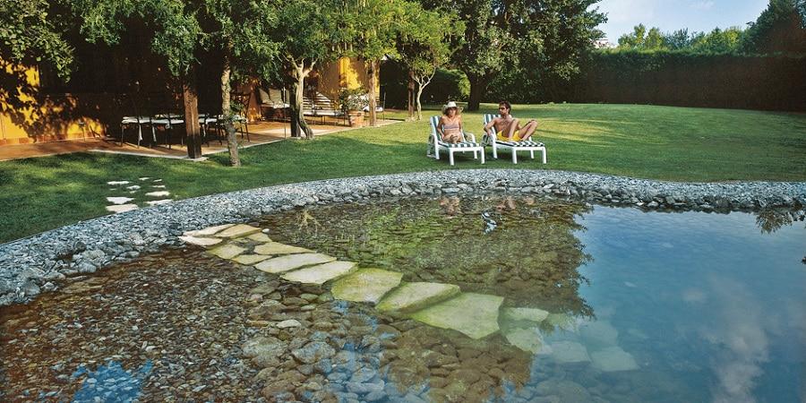Como hacer piscina natural en el patio de tu casa - Construir una piscina ...