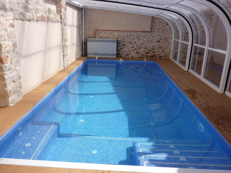 como hacer una piscina de obra con ladrillos