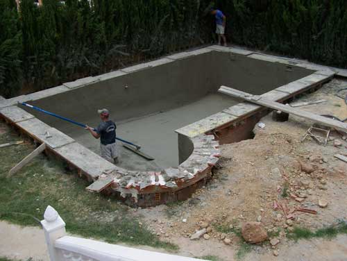 Como hacer una piscina artesanal for Construir piscina concreto
