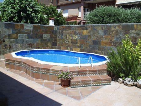 Como hacer piscina de obra elevada for Piscinas desmontables