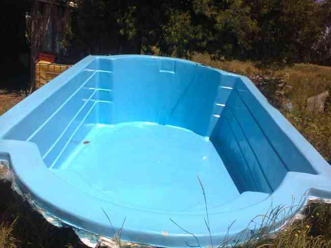 como hacer una piscina de fibra de vidrio