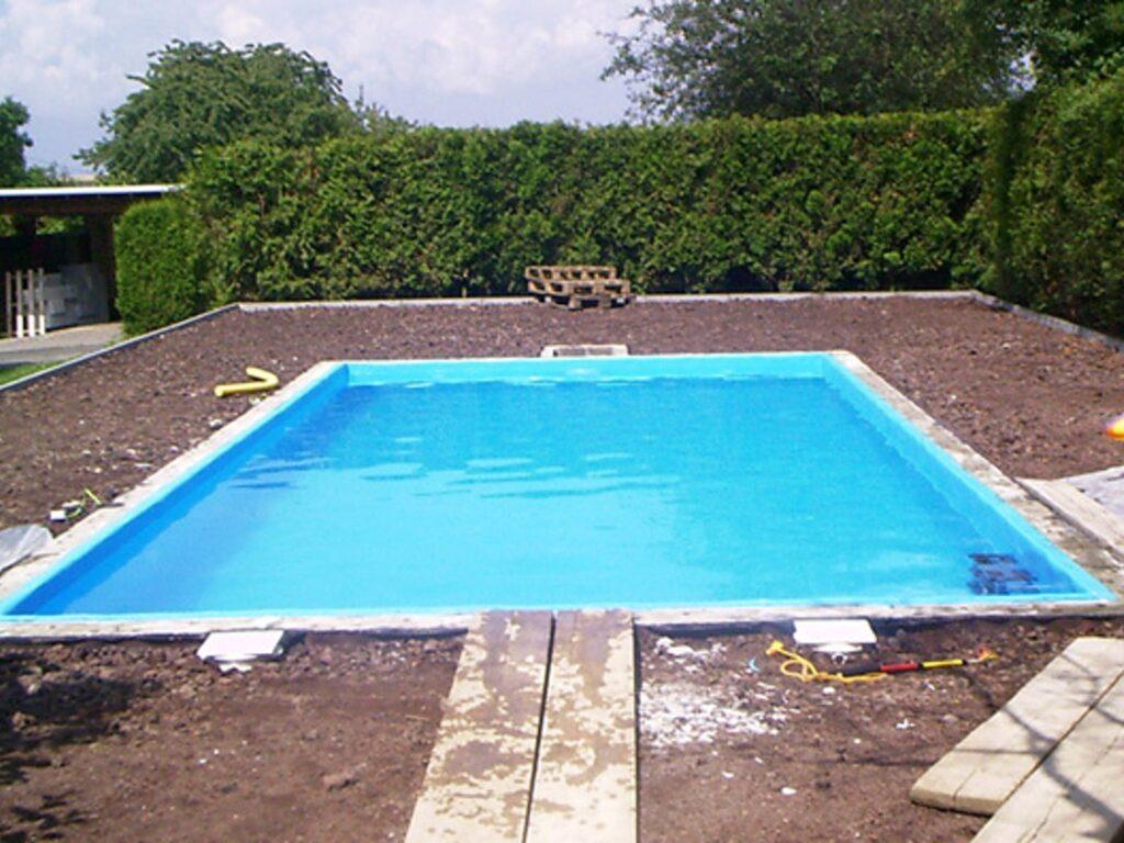 piscinas en construccion